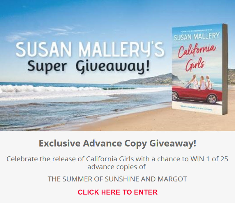 California Girls Giveaway