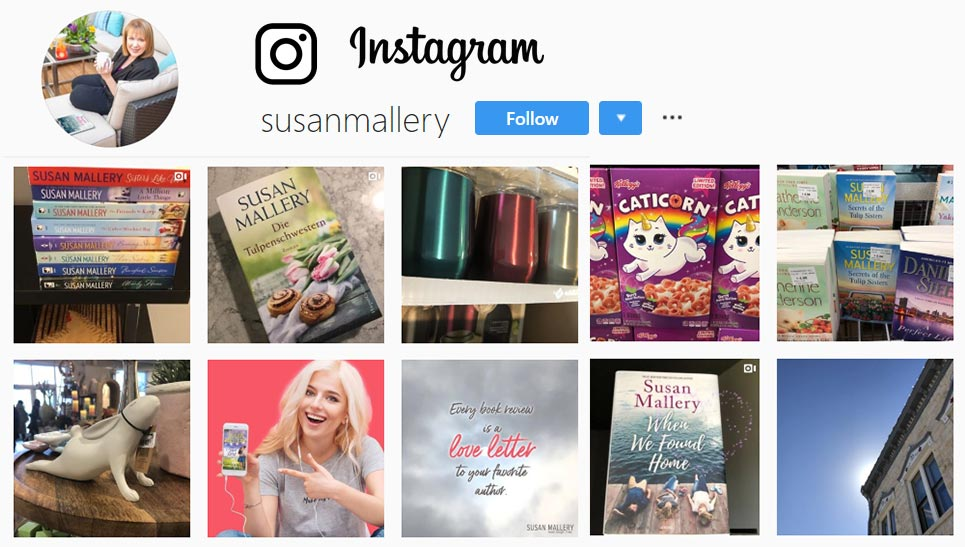 Check out Susan's exclusive photos on Instagram!