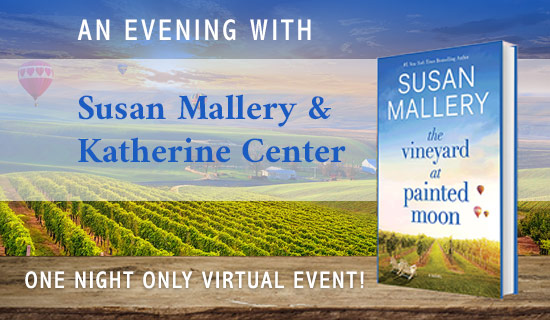 Evening with Susan Mallery and Katherine Center